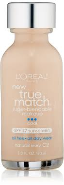 photo of loreal true match super blendable makeup cool natural ivory c2