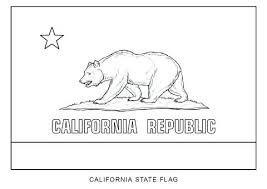 California Missions Printable Coloring Pages State Flag Of Page Free
