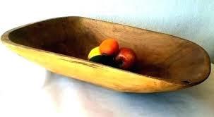 antique wooden dough bowl bread large bowls bow trencher on antique dough bowl