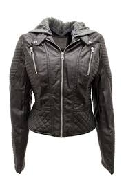 ci sono vegan leather jacket front cropped image