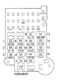 chevy van fuse box schematic diagram today Chrysler Pacifica Fuse Box Diagram at 2007 Chrysler Pacifica Fuse Box