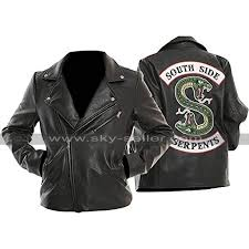 product features genuine and faux leather las fashionable jacket