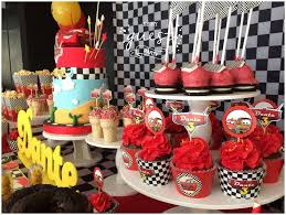 Cars Disney Movie Birthday Party Ideas In 2019 Cupcakes Cars