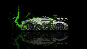 monster energy bugatti veyron fantasy car