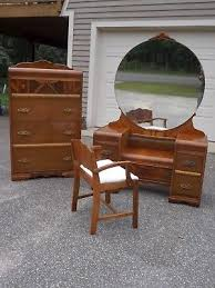 set dresser antique art deco bedroom set dresser vanity mirror and chair tall
