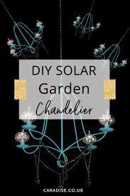 diy solar chandelier