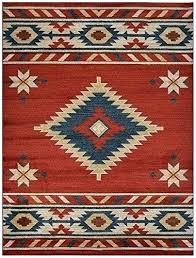 red blue area rug collection southwestern native design area rug orange and blue area rug burnt
