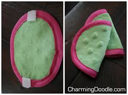 free pattern baby car seat strap covers