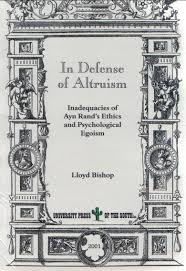 book info in defense of altruism by lloyd bishop cover
