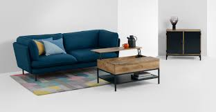 Mango Living Room Furniture Lomond Compact Sideboard Mango Wood And Black Madecom