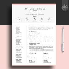Professional resume template, resume template for word, cv template with FREE  cover letter, cv design, lebenslauf,