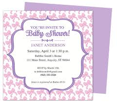 Baby Shower Invitation Backgrounds Free Beauteous Free Baby Shower Invitation Templates For Word Projet44