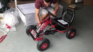 Características <b>Kart</b> de pedales A15 rojo, para niños de 3 a 6 años ...