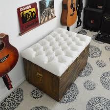 Upholstered Coffee Table Diy Make Storage Ottoman Zab Living