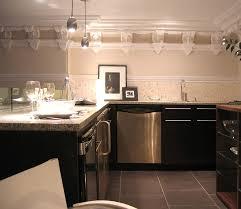 No Backsplash In Kitchen No Upper Cabinet Kitchen Design Cliff Kitchen