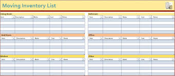 How To Do An Inventory List How To Make An Inventory List Beyin Brianstern Co