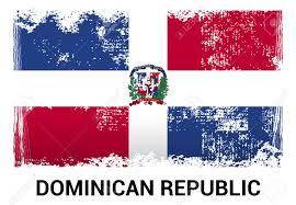 Dominican Flag Design Dominican Republic Flag Design Vector