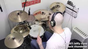 biffy clyro black chandelier drum cover by love it drum it