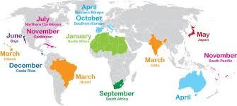Travel Calendar Shoulder Season Destinations A Calendar Of The Best Time To Travel