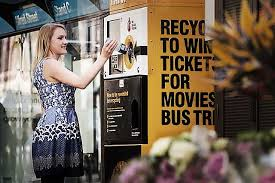 Plastic Bottle Recycling Vending Machine Inspiration This Vending Machine Swaps Your Used Cans And Bottles For Cool