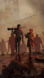 video game the walking dead a new frontier 720x1280 mobile wallpaper