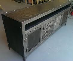 industrial chic furniture ideas. Industrial Media Console By Scott Dobert Chic Furniture Ideas R