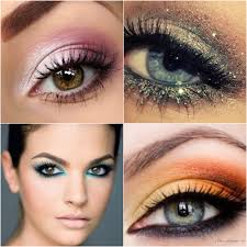 makeup on eyes diffe styles