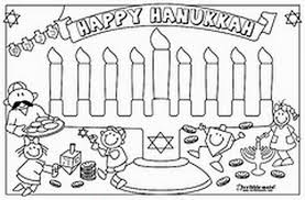 Hanukkah Coloring Pages Menorahs Family Holiday Net Guide To