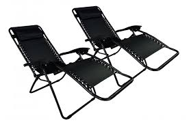 zero gravity chairs case of 2 black lounge patio chairs outdoor zero gravity lawn chairs