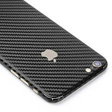 iphone 6 black front. armorsuit militaryshield apple iphone 6 plus / 6s screen protector + black carbon fiber full iphone front
