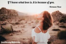 Great Quotes About Love Fascinating Romantic Sweet Good Morning Quotes For Her 😍😍 48 Love Messages