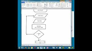 flowchart in word creating a simple flowchart in microsoft word youtube