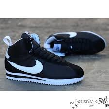 nike shoes 2016 high tops. 2016 latest nike classic cortez high tops womens mens sneakers black white on sale shoes i