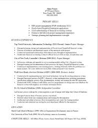 Manager Resume Sample Awesome Resume Sample Example Of An IT Project Manager Resume Targeted To