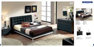 modern black bedroom furniture. Bedroom Furniture Modern Toledo Black M Decor K