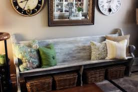 Image of: Entryway Bench Ideas