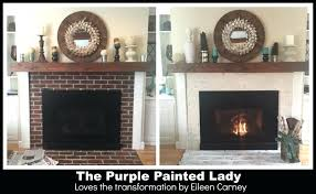 heat resistant paint for fireplace the purple painted lady fireplace heat resistant paint fireplace insert