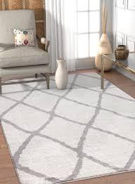 white modern rug. walton white modern rug