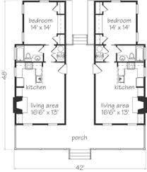 Cracker House Plans   Sunset House PlansDogtrot SL
