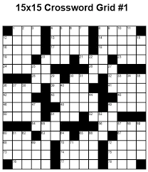 blank crossword puzzle grids printable 15x15 crossword puzzles to pin on pinterest