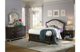 furniture for girls room. Samuel Lawrence Furniture Girls Glam 4-Piece Panel Bedroom Set With Storage In Dark Cherry For Room M