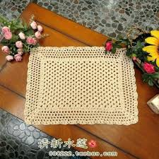 coffee table mats coffee table mats free cotton crochet lace mat cabinet towel for decoration