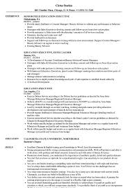 Beauty Resume Examples Education Executive Resume Samples Velvet Jobs 23