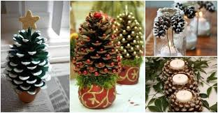 20 DIY Christmas Decorations And Crafts IdeasChristmas Pine Cone Crafts