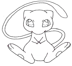Coloring Pages Of Mew Fun Coloring