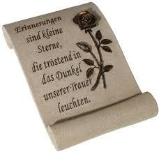 Schriftrolle Mit Spruch Erinnerungen Sind Kleine Sterne Gedenkshop
