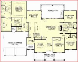 3 bath 1 story four bedroom house plans