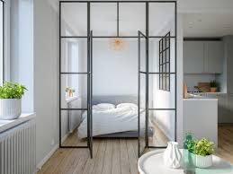 Studio Apartment Bed 3 Modern Studio Apartments With Glass Walled Bedrooms