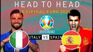 ? Head To Head ~ ITALY VS SPAIN ...