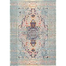 nuloom distressed persian sarita grey 3 ft x 5 ft area rug